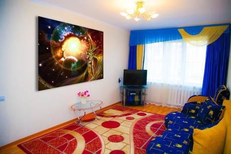 Сдается 2-комнатная квартира посуточно в Алматы, ул. Жарокова, д. 95.