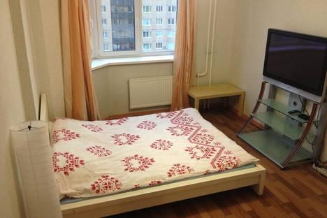 Сдается 1-комнатная квартира посуточнов Санкт-Петербурге, ул. Фёдора Абрамова, 4.
