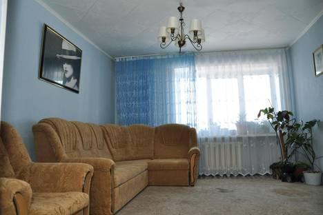 Сдается 3-комнатная квартира посуточнов Абзаково, ул. Ленина, 62.