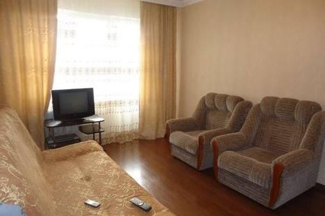 Сдается 1-комнатная квартира посуточно во Владикавказе, Москоская 45.