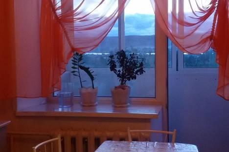 Сдается 2-комнатная квартира посуточно в Кызыле, ул.ГОРНАЯ Д13.