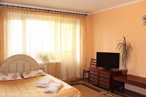 Сдается 1-комнатная квартира посуточно в Алматы, Фурманова, 42.