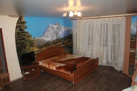 Сдается 1-комнатная квартира посуточно в Великих Луках, ул. Розы Люксембург 23/26.