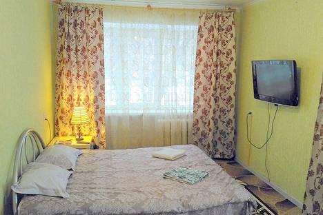 Сдается 1-комнатная квартира посуточно в Дзержинском, улица Лермонтова дом 11.
