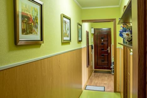 Сдается 1-комнатная квартира посуточно в Алматы, микрорайон Сайран, 9.