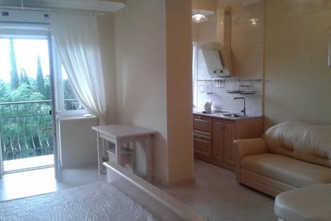 Сдается 1-комнатная квартира посуточнов Отрадном, Партенит, Парковая 5а.