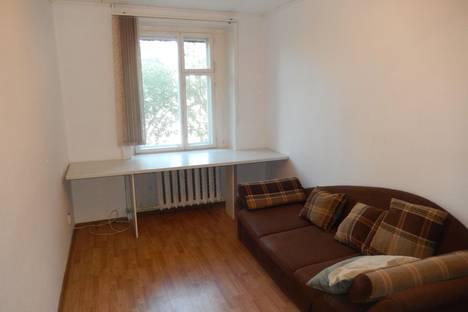 Сдается 2-комнатная квартира посуточнов Пушкине, Железнодорожная ул., 52.