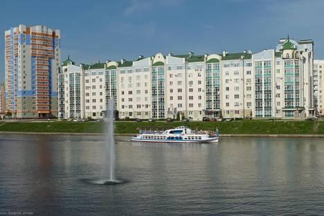 Сдается 2-комнатная квартира посуточно в Орле, Дубровинского набережная, 76.