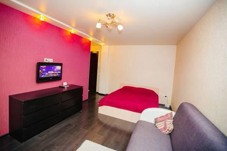 Сдается 1-комнатная квартира посуточно в Барнауле, Красноармейский проспект, 112.