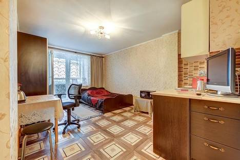 Сдается 1-комнатная квартира посуточно в Санкт-Петербурге, ул. Полевая Сабировская, 47 к.1.