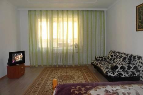 Сдается 1-комнатная квартира посуточнов Актобе, 12-й микрорайон, 25.
