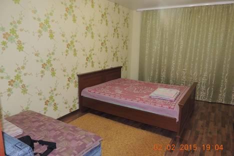 Сдается 1-комнатная квартира посуточнов Уфе, ул. Рабкоров, 2/1.
