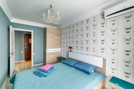 Сдается 3-комнатная квартира посуточно в Ростове-на-Дону, ул. Пушкинская, 199.