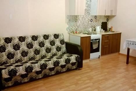 Сдается 1-комнатная квартира посуточно в Челябинске, пр-т Краснопольский проспект, 13а.