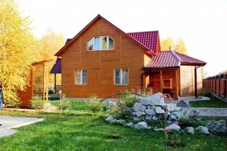 Сдается коттедж посуточно в Новосибирске, п. Садовый 5.