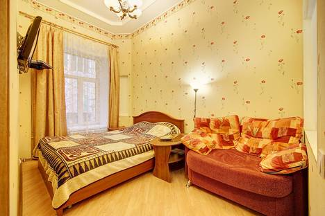 Сдается 1-комнатная квартира посуточно в Санкт-Петербурге, Пушкинская, 16.