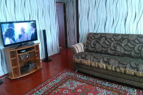 Сдается 3-комнатная квартира посуточно в Шерегеше, Дзержинского 7.