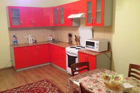 Сдается 2-комнатная квартира посуточно в Астане, ул. Кенесары, 40.