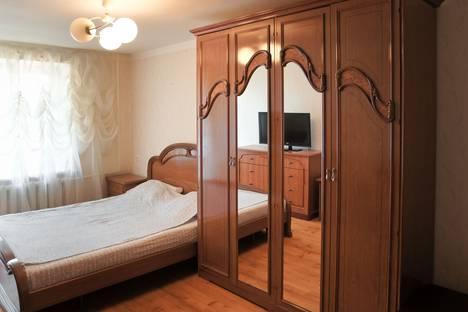 Сдается 1-комнатная квартира посуточнов Уфе, проспект Октября, 44/2.