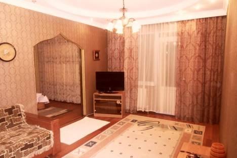 Сдается 2-комнатная квартира посуточно в Алматы, ул. Толе би, 180Б.
