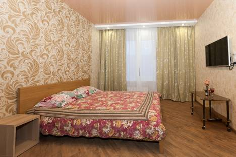 Сдается 1-комнатная квартира посуточно в Новосибирске, ул. Семьи Шамшиных, 90/5.