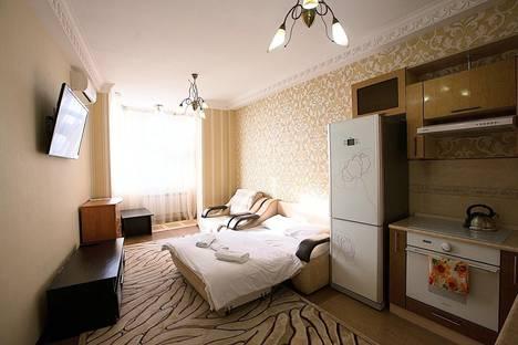 Сдается 1-комнатная квартира посуточно в Алматы, ул.Навои 208.