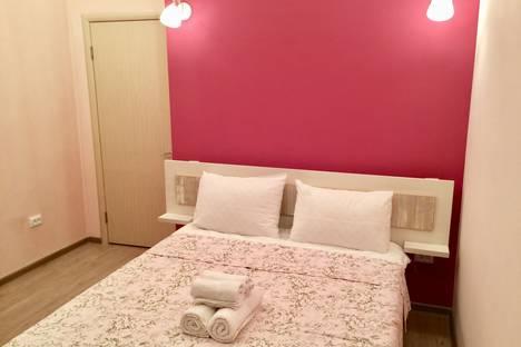 Сдается 2-комнатная квартира посуточно в Алматы, ул. Гоголя, 24.