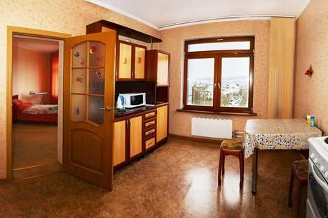 Сдается 2-комнатная квартира посуточно в Улан-Удэ, Бульвар Карла Маркса 25а.
