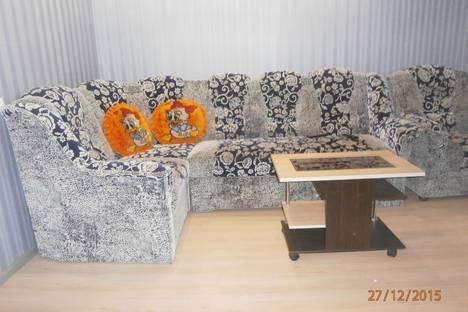 Сдается 1-комнатная квартира посуточно в Великом Устюге, Советский проспект 8б.