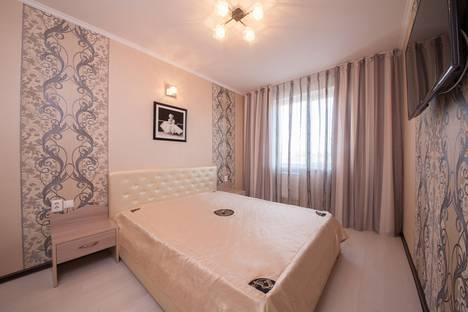 Сдается 3-комнатная квартира посуточно в Красноярске, ул. Весны, 17.