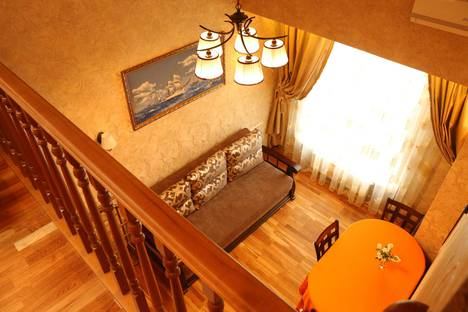 Сдается 2-комнатная квартира посуточно в Севастополе, Щитовая 45, двухуровневая.