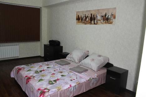 Сдается 2-комнатная квартира посуточнов Красной Поляне, Эсто-садок, ул. Эстонская 37.