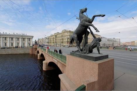 Сдается 1-комнатная квартира посуточнов Санкт-Петербурге, Невский проспект 74-76.