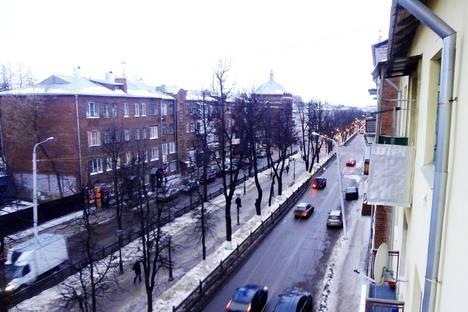 Сдается 1-комнатная квартира посуточно в Костроме, проспект Мира, 15.