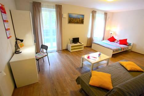 Сдается 1-комнатная квартира посуточно в Петрозаводске, ул. Софьи Ковалевской, 16б.
