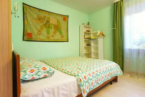 Сдается 1-комнатная квартира посуточно в Перми, ул. Крисанова, 18Б.