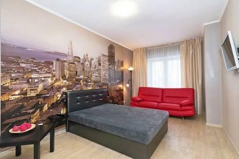 Сдается 1-комнатная квартира посуточно в Павлодаре, ул. Ткачева, 17.