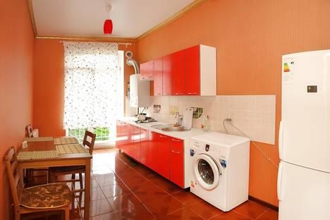 Сдается 1-комнатная квартира посуточно в Пятигорске, переулок Угловой, 8a.