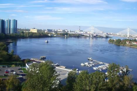 Сдается 1-комнатная квартира посуточнов Санкт-Петербурге, Рыбацкий проспект 18.