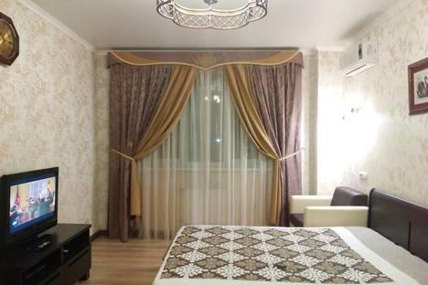 Сдается 1-комнатная квартира посуточнов Яблоновском, Кубанская Набережная, 64.
