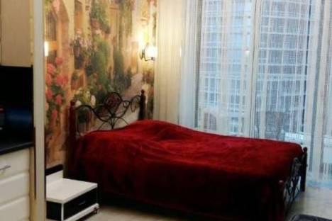 Сдается 1-комнатная квартира посуточнов Сочи, Курортный проспект, 105б, ЖК «Актер Гэлакси».