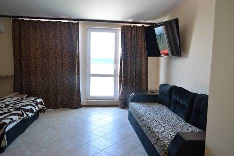 Сдается 1-комнатная квартира посуточнов Береговом, ул.Северная, д.43 кв.104.