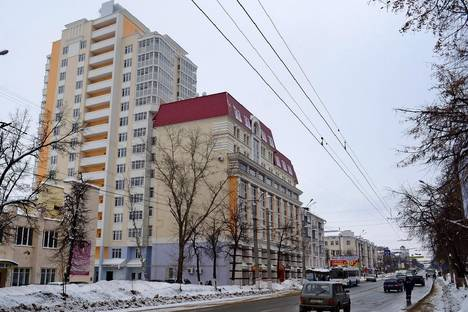 Сдается 1-комнатная квартира посуточнов Саранске, проспект Ленина, 23а.