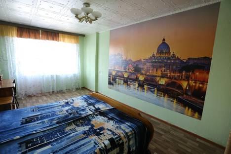 Сдается 2-комнатная квартира посуточно в Челябинске, Комсомольский проспект, 43.