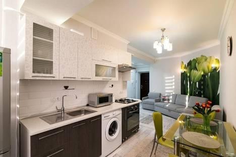 Сдается 2-комнатная квартира посуточно в Кишиневе, Толстого, 24\1.