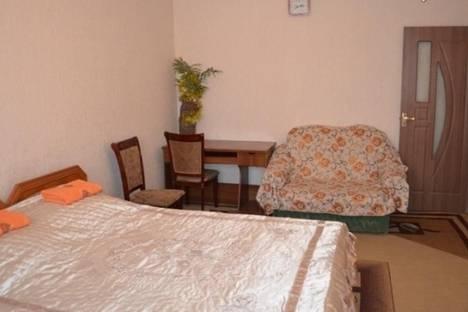 Сдается 1-комнатная квартира посуточно в Бишкеке, ул. Суюнбаева, д. 16.