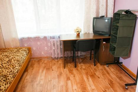Сдается 1-комнатная квартира посуточнов Чайковском, ул. Ленина, 40.