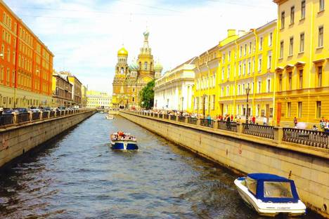 Сдается 1-комнатная квартира посуточнов Санкт-Петербурге, Канала Грибоедова набережная, 2б.