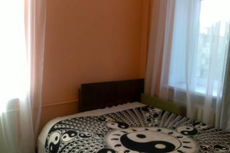 Сдается 2-комнатная квартира посуточно, проспект Ленина, 16.