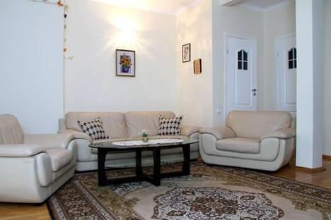 Сдается 3-комнатная квартира посуточно в Кишиневе, М. Варлаам, 75.